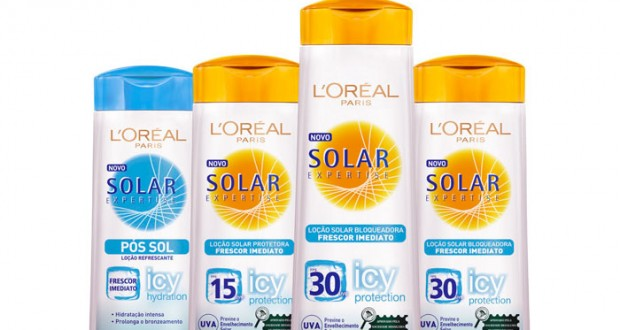 Protección solar L'Oreal