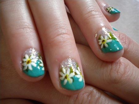 Diseños de uñas cortas