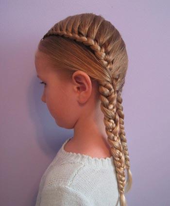peinados para nias - Peinados Chulos