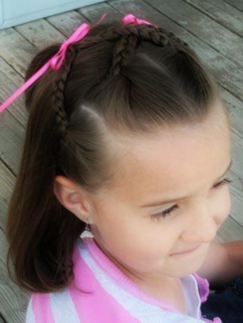 Peinados para ni a sencillos y muy bonitos - Peinados bonitos para ninas ...