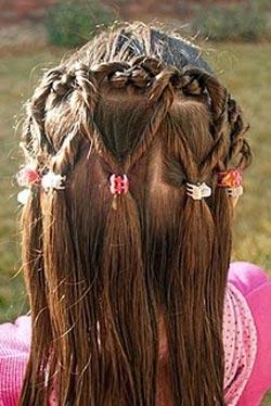peinado para nia with peinado para ninas